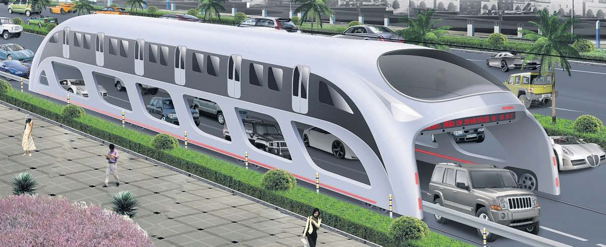 China 3d-Express-Bus-System