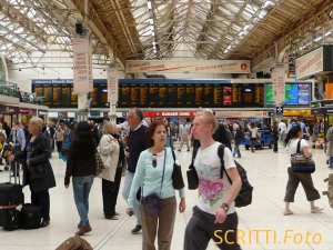 London Victoria Station by SCRITTI