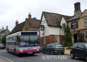 First Bus in Lacock
