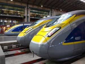 Eurostar-Züge in neuem Design