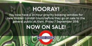 Hidden-London-Ankündigung