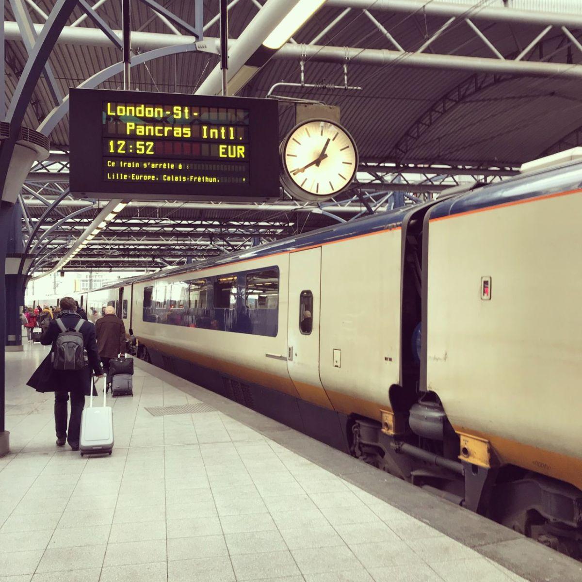Bequem per Bahn nach Londonreisen