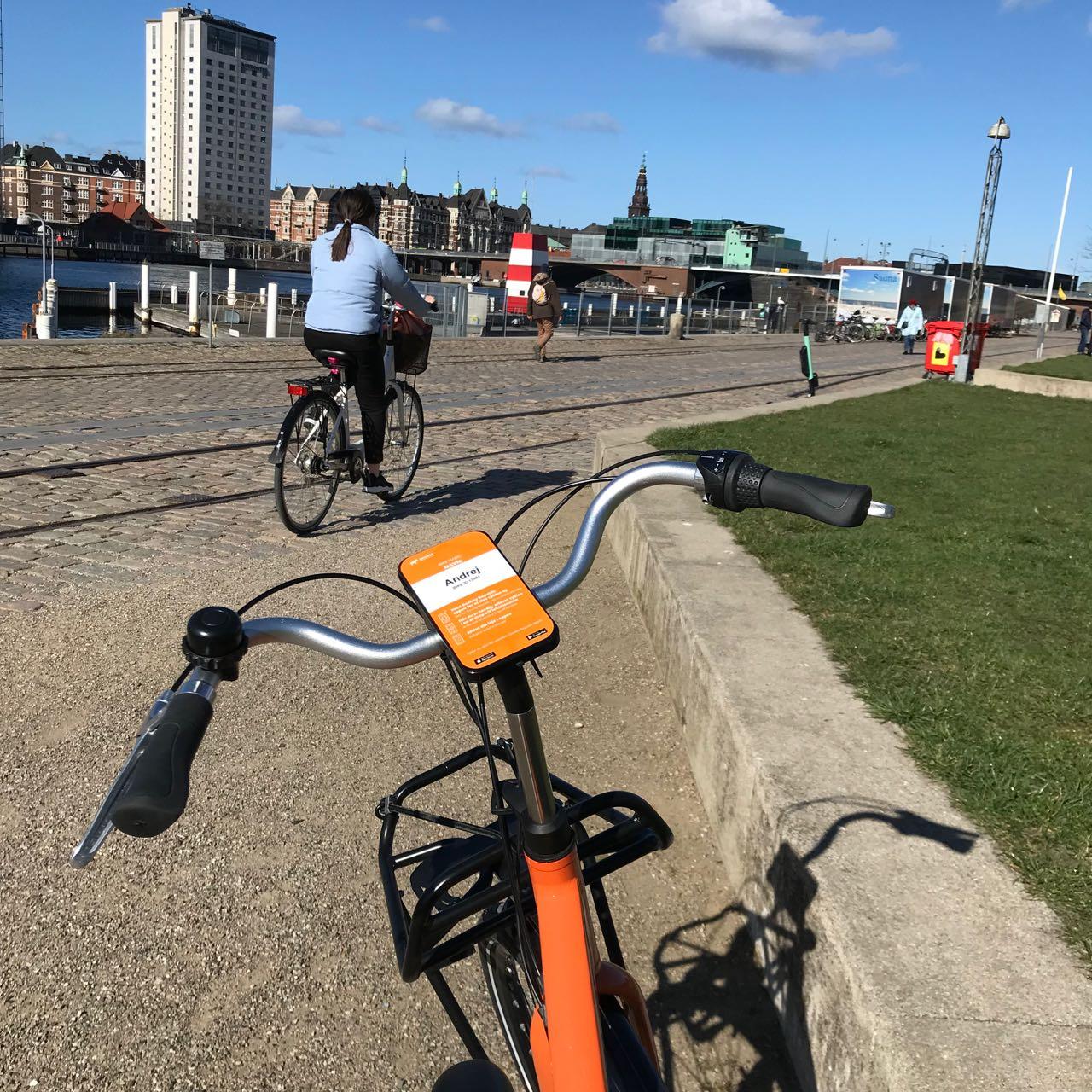 Kopenhagen-Leihrad