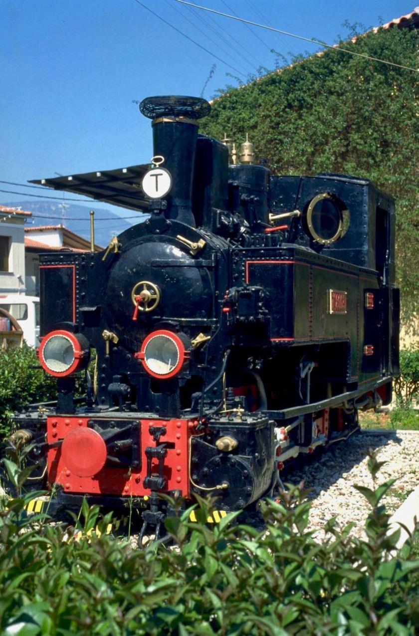 Historische Dampflok Diakofto