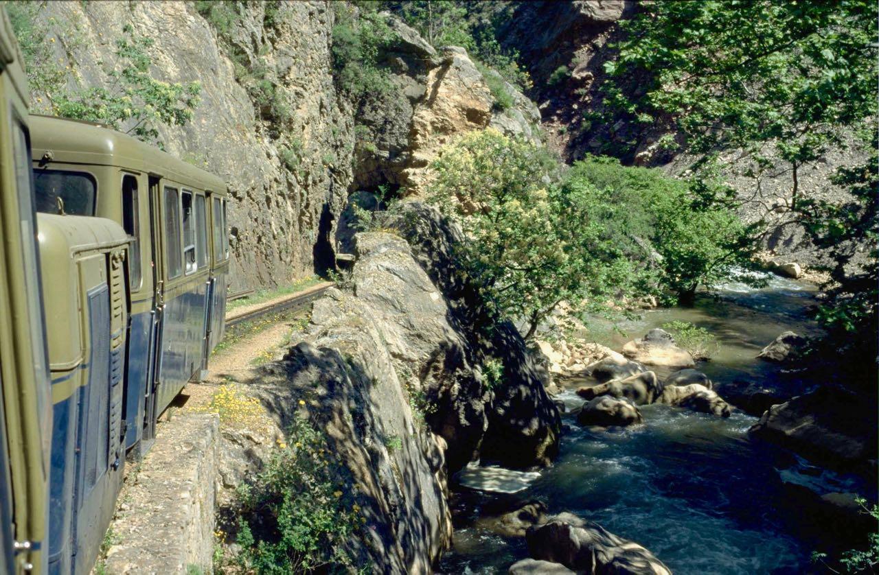 Peloponnes Schmalspurbahn