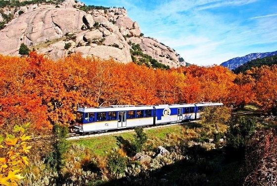 Bahn-Abenteuer in Griechenland