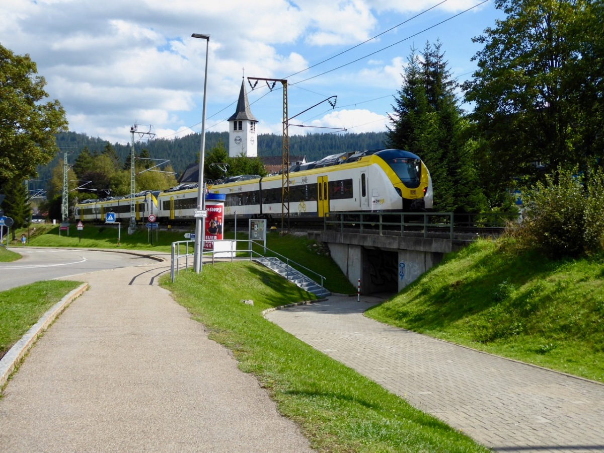 Mobil im Schwarzwald mit der neuenBreisgau-S-Bahn
