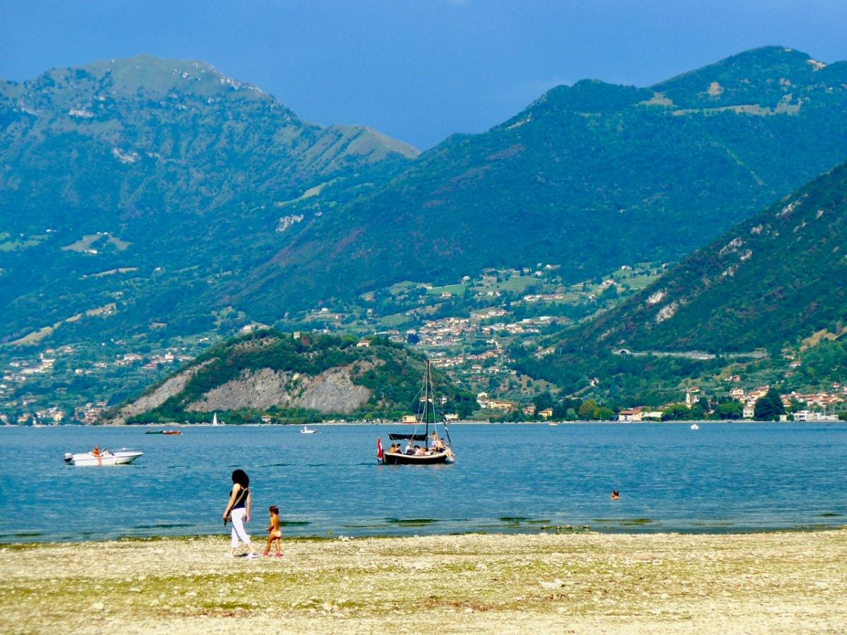 Lago d'Iseo: Mit der Bahn zum schönsten SeeNord-Italiens